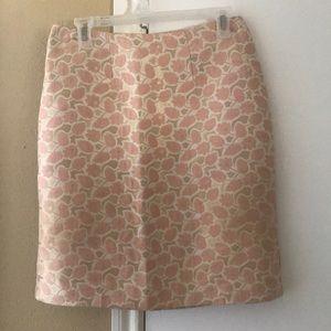 Mid length spring skirt
